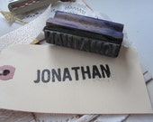 Vintage Apple Orchard Rubber Stamp Jonathan