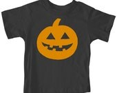 Boy Toddler Kids Jack O'Lantern Pumpkin Spice Halloween Party Fall Festival T-shirt