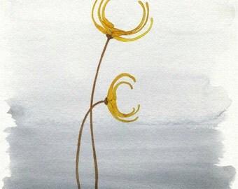 Winter Gold // archival print