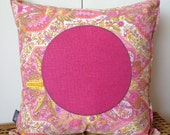 Kids Cushion Pillow Cover,  Pretty Pink Pillow Cover, Girls Room Decor, Nursery Decor, Kids Bedroom Decor, Christmas Gift, 45x45cm