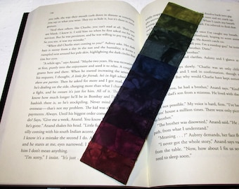 Quilted Bookmark Dusky Sunset