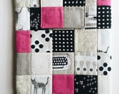 Patchwork iPad case - cotton and steel