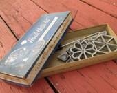 Vintage Timbale Iron - Handy Hostess Kit - Waffle/ Patty/ Pastry Maker