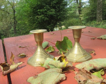 Brass Candle Holders - Made In India - Gift Idea
