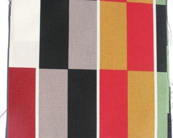 Racing Stripes - IKEA Helsinge Cotton Fabric Quilting Charm Squares