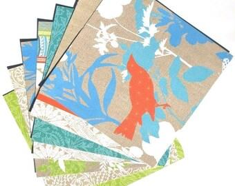 Summer Garden Blue - 6x6 DCWV Paper Pack