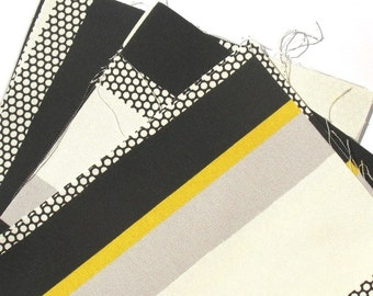 Bee Hive - IKEA Sebragras Cotton Fabric Quilting Charm Squares