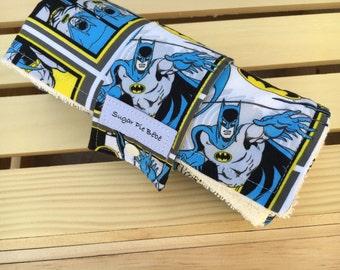 Baby Changing Mat / Diaper Changing Pad - Travel Changing Mat - Batman Baby Gift