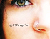 Sterling Silver Nose Ring / Free US Shipping