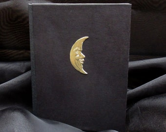 THE MOON Antiqued Journal
