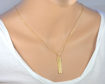 Layered Necklace Detangler Multi Strand Necklace By