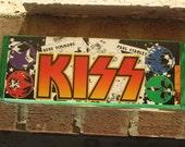 Comic KISS (the band) Decoupage Gift/Treasure Box