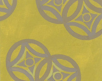 SALE Medusa Medallions in chartreuse from Frond Design Studios