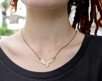 The Spotted Owl Necklace