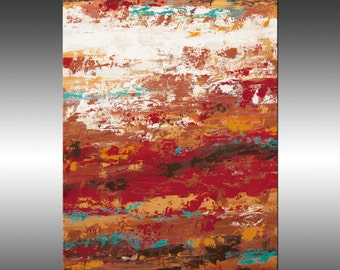 Modern Industrial 11 - Original Abstract Painting, Large Colorful Wall Art, Textured Painting, Canvas Art, Industrial Modern Art, Fine Art