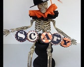 Halloween Decoration Cute Halloween Assemblage Halloween Decoration Halloween Ornament