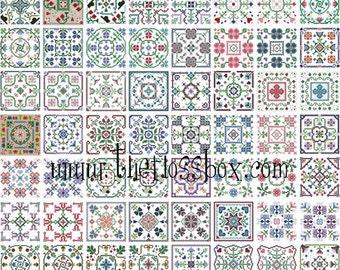 Cross Stitch Biscornu Pack 4