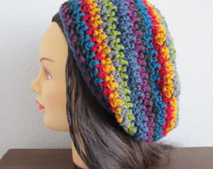 Sunburst Slouchy - PDF Crochet Pattern