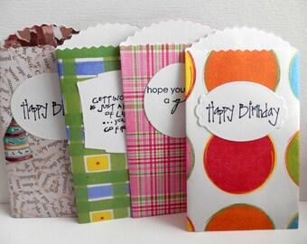 Birthday Gift Card Holders Multipack