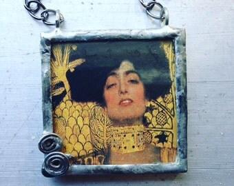 Klimt Judith Necklace