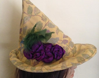 Pixie Witch Hat Autumn Forest Adult Halloween Costume