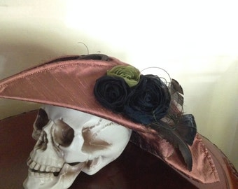 Pirate Tricorn Hat Womens Halloween Renaissance Faire Costume