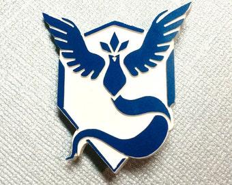 Team Mystic Pokemon Go Pin - Acrylic with Metal Pin
