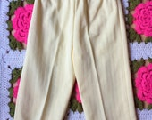 Handmade Yellow Polyester Pants 18-24 Months