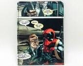 Sewn Comic Book Wallet - Deadpool Design 32