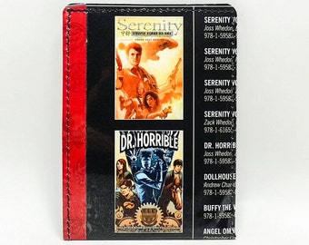 Sewn Comic Book Wallet - Joss Whedon - Serenity, Dr. Horrible, Dollhouse, Buffy