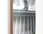 Penn State Wall Art, Ready to Hang 8x10 Black and White Old Main Photo Print, PSU, Nittany Lions, Architecture, College, Penn State