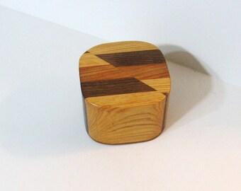 Trinket Box Made Of three Woods