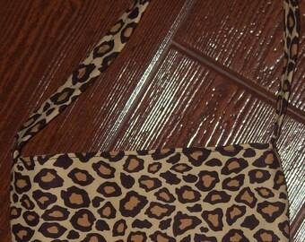 Cheetah toddler purse