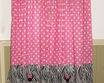 Minnie Mouse Curtain Etsy