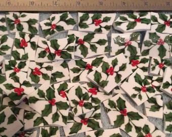 Mosaic Tiles 100 Leaves n Berries China mosaic Tile