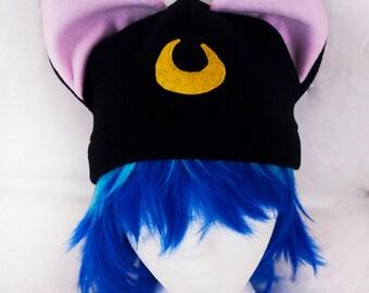 SALE - Sailor Moon - Luna hat