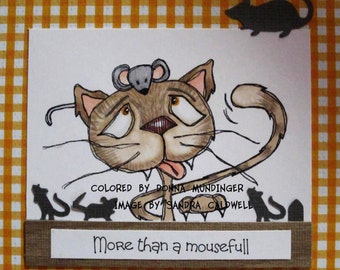 1041 Cat and Mouse Two Digi Stamp