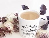 Machen Sie heute lächerlich erstaunlich Kaffee-Haferl
