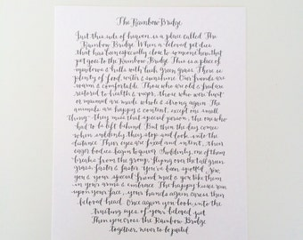 The Rainbow Bridge Print