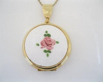 Vintage perfume locket