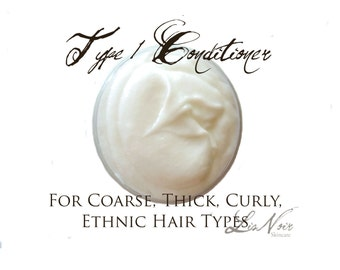 LARGE Type 1 Conditioner Small Size Thick Dry Coarse Hair Types