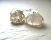Rutilated Quartz Earrings, Rutilated Quartz Gemstone Dangle Drop Earrings, Gemstone Jewelry, Dangle Earrings, Stone Earrings