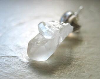 Quartz Crystal Pendant, Smoky Quartz Crystal Point Gemstone Pendant Necklace, Quartz Gemstone Jewelry, Stone Pendant, Crystal Necklaces