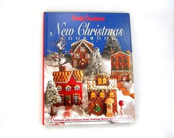"Betty Crocker Christmas Cookbook, 1993 Edition, Betty Crocker's ""New Christmas Cookbook"" - 300 Pages Recipes - Full Color Photos"