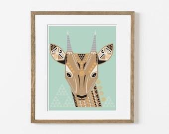 anteloper print