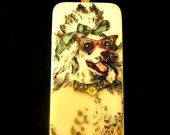 Hollywood Poodle Pendant