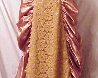 Marie Antoinette Renaissance Theatrical Dress Steam punk Halloween medium
