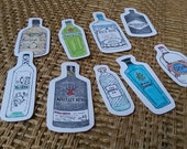 Giniatures (set of 9 stickers)