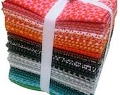 SALE 40% Off Windham UPPERCASE Fat Quarter Bundle 29 Precut Cotton Fabric Quilting FQs Janine Vangool
