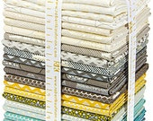 20% Off + Free Ship Jennifer Sampou SHIMMER 2 Fat Quarter Bundle 26 Precut Cotton Fabric Quilting FQs Robert Kaufman FQ-951-26